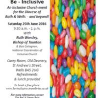 be inclusive poster